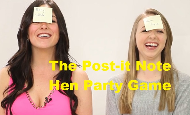 The Post-it Note Hen Party Game