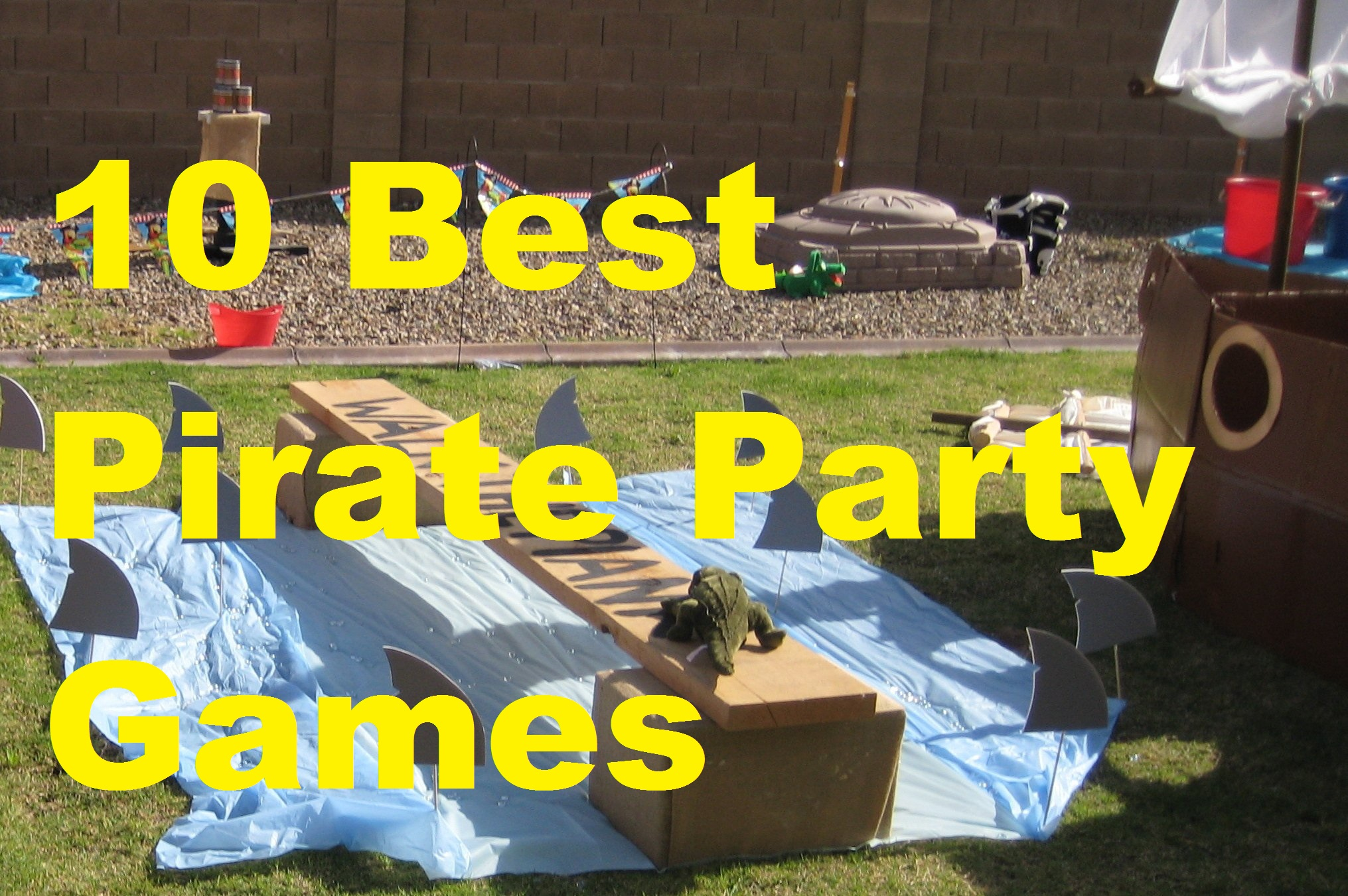 PIRATE PARTY PARTY GAME