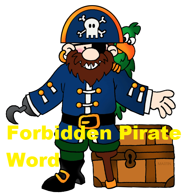 Forbidden Pirate Word